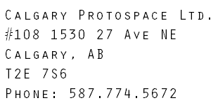 Protospace Address